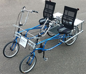 Blackbird Bikes Ez Quadribents Side By Side Recumbent